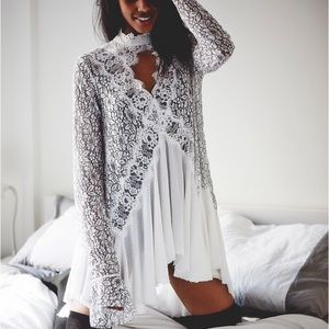 FP Tell Tale Lace Tunic